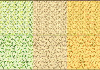 Liana Patterns - Free vector #385705