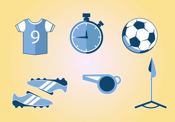 Football Sport Kit Vector - vector #386165 gratis