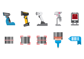Free Barcode Scanner Vector - Free vector #386505