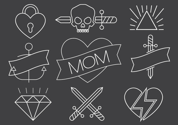 Free Vector Tattoos - Free vector #386705