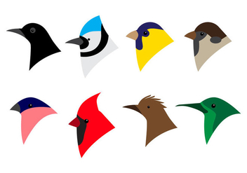 Free Bird Head Icon Vector - vector #386715 gratis