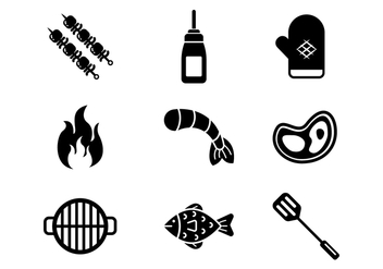 Free Barbecue Vector Icons - бесплатный vector #386825