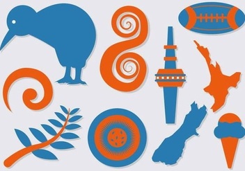 Free New Zealand Icons Vector - Free vector #387265