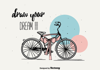 Draw Your Dream Background - Free vector #387305