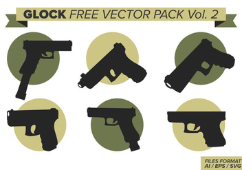Glock Free Vector Pack Vol. 2 - бесплатный vector #387565