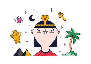 Free Cleopatra Vector - Free vector #387645