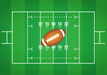 Football Field - vector #387685 gratis