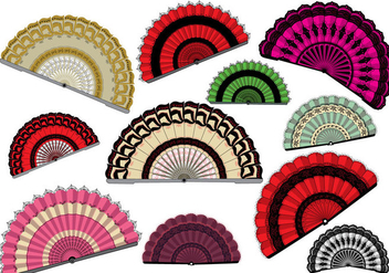 Free Spanish Fan - vector gratuit #387705