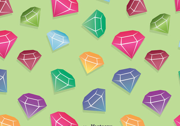 Colorful Diamond Background - vector #387715 gratis