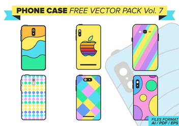 Phone Case Free Vector Pack Vol. 7 - Kostenloses vector #387785