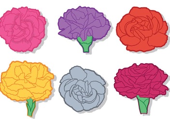 Carnation Vector - Free vector #388065
