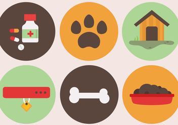 Free Pet Elements Vector - vector #388615 gratis