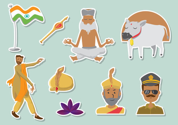 Free Bollywood Icons - Free vector #388745