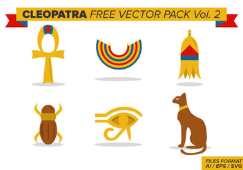 Cleopatra Free Vector Pack Vol. 2 - vector #388945 gratis