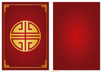 Chinese Red Packet Illustration - vector gratuit #388955
