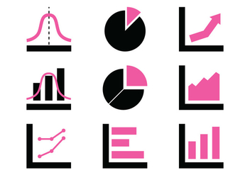 Chart Icons - Kostenloses vector #389135