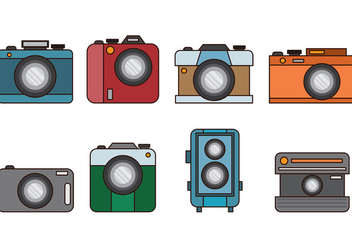 Set Of Camara Vector - Free vector #389975
