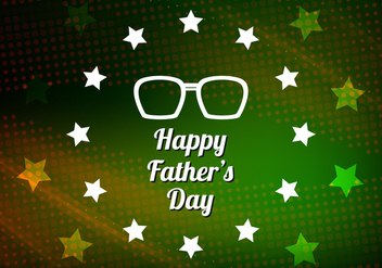 Free Vector Modern Father's Day Background - Kostenloses vector #390005