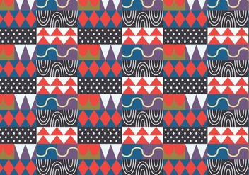 Abstract Random Pattern - vector #390265 gratis