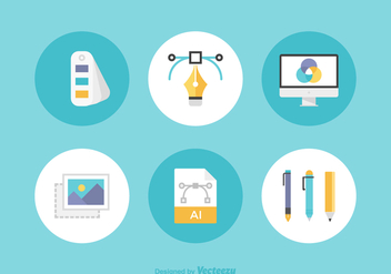 Free Graphic Design Vector Icons - Kostenloses vector #390335