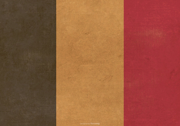 Grunge Flag of Belgium - бесплатный vector #390395