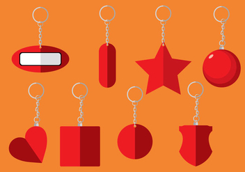 Free Key Chain Icons - vector #390585 gratis