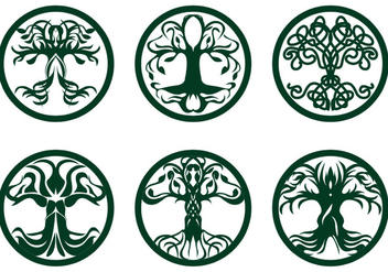 Celtic Tree Vector - бесплатный vector #390635
