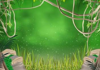 The Jungle Liana - vector #390685 gratis