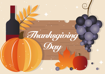 Free Thanksgiving Vector - Free vector #390905