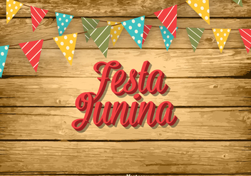 Free Festa Junina Vector Illustration - бесплатный vector #391305
