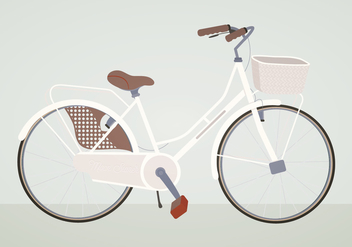 Vector Bike Illustration - vector gratuit #392135