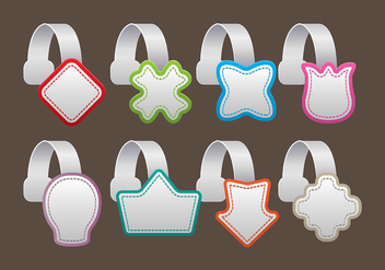 Wobbler Icons - vector gratuit #392215
