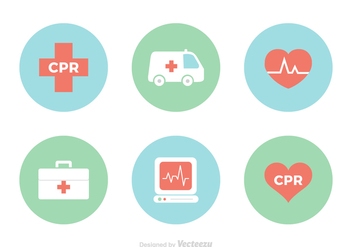 Free CPR vector Icons - бесплатный vector #392245