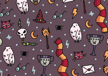Harry Potter Pattern - vector #392285 gratis