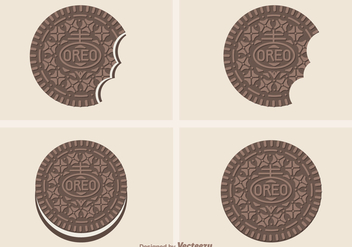 Free Vector Oreo Cookies - Free vector #392335