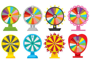 Spinning Wheel Icon Vectors - vector #392455 gratis