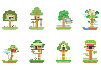 Free Treehouse Vector - Free vector #392885