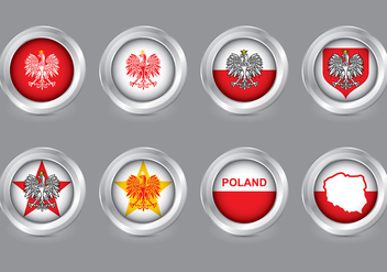 Polish Eagle Vector - vector #393275 gratis