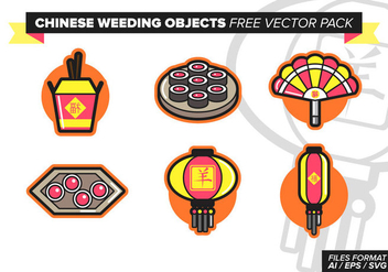 Chinese Wedding Free Vector Pack Vol. 2 - Free vector #393415
