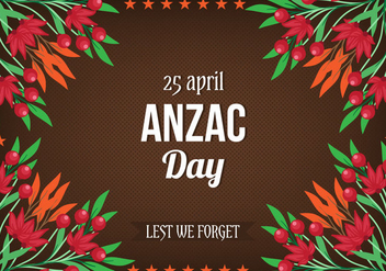 Free Vector Anzac Day - Free vector #393505