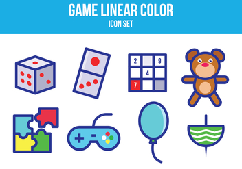 Free Game Icon Set - vector gratuit #393595