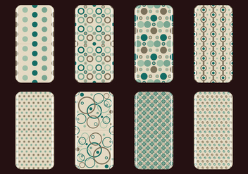 Phone Case Retro Vectors - vector #393635 gratis