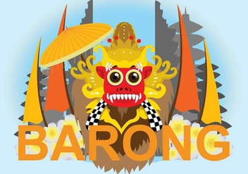 Free Barong Illustration - vector gratuit #393955