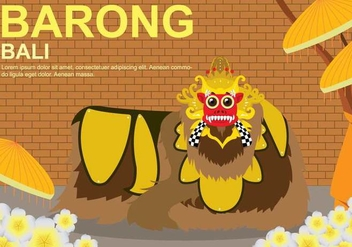 Free Barong Illustration - Free vector #394175
