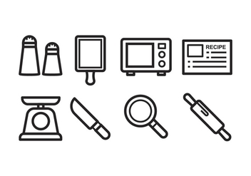 Free Cooking Icons - vector #394455 gratis