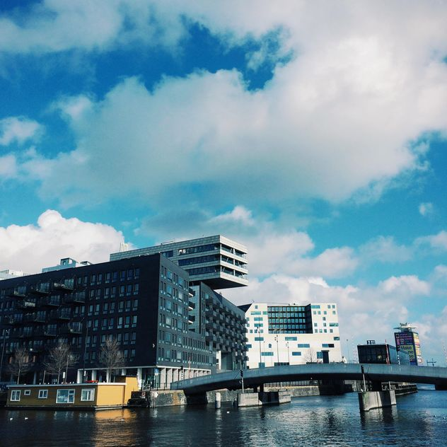 Modern architecture, Amsterdam, Holland - image gratuit #394795