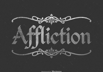 Free Affliction Vector Logo - Free vector #395105