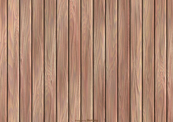 Vector Wood Plank Background - Free vector #395635