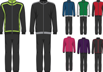 Tracksuit Design Illustration - vector gratuit #395935
