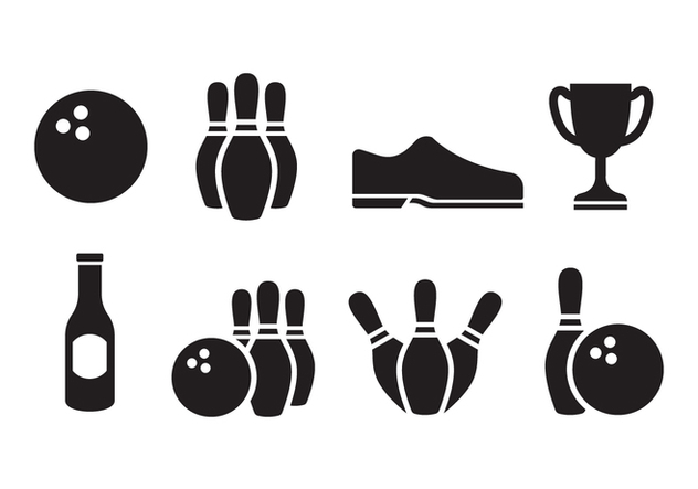 Free Bowling Icon Set - Kostenloses vector #396005